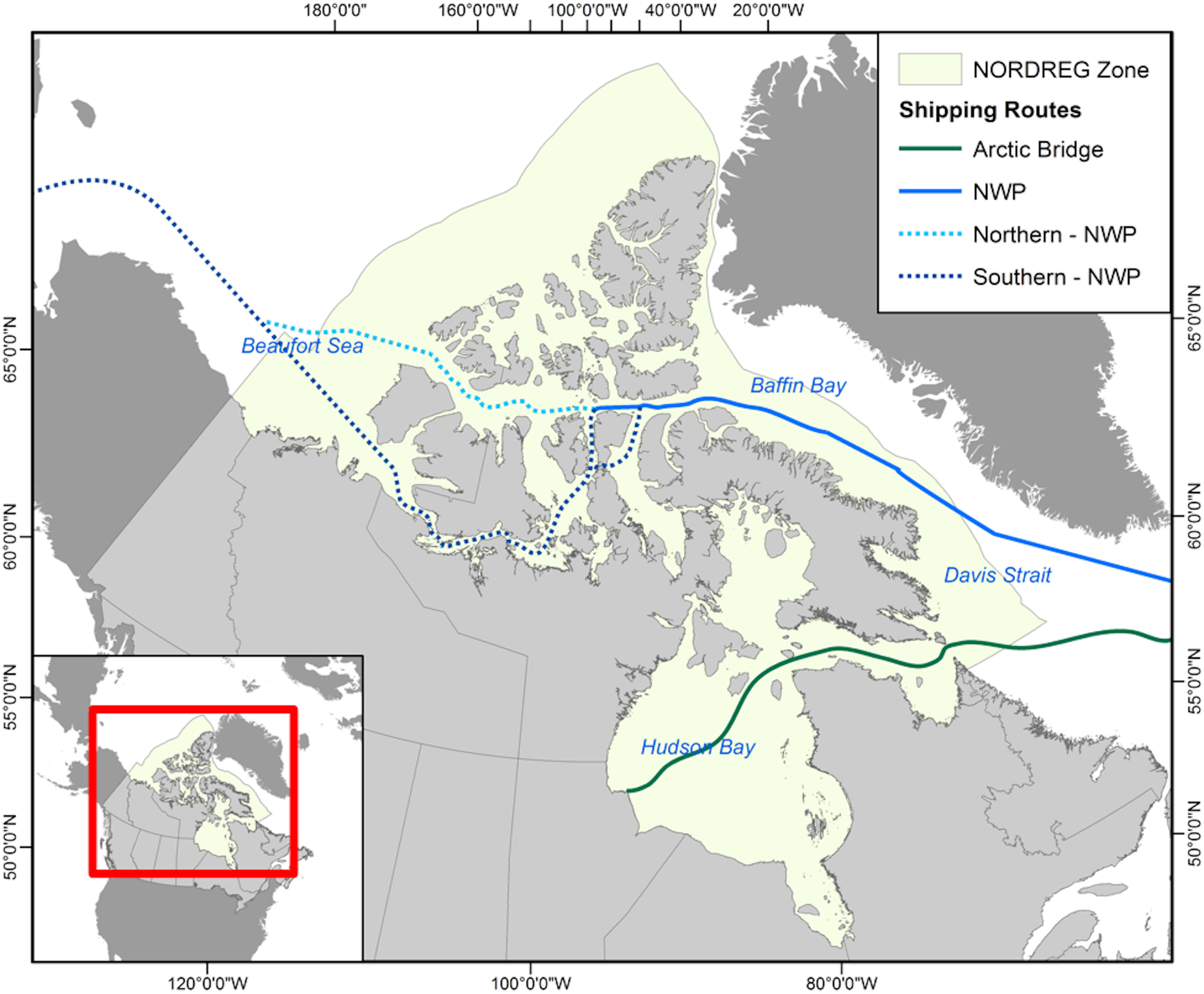 Download Maps & Charts - Arctic Corridors Research Project